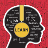 Fototapety learning to speak different languages concept