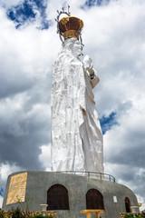 Virgin Mary Statue in Peru