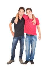 Teenage brothers