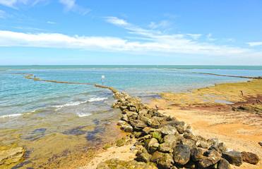 Playa de Chipiona, Costa de la Luz, Cádiz, España