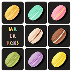 Collection of macaron