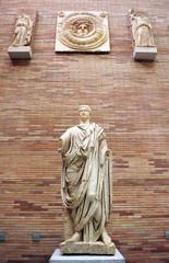Roman sculpture, Merida, Extremadura, Spain