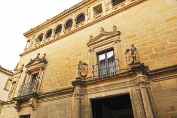 Palacio Vela de los Cobo, Úbeda, Jaén, España