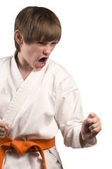 Teen anger in a kimono