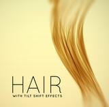 Fototapety Closeup of long human hair