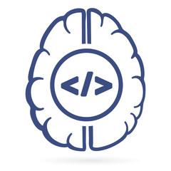 human brain and html tags inside