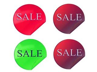 Sale, stickers
