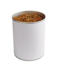 Jar with tobacco