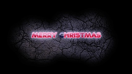 Merry Christmas video background