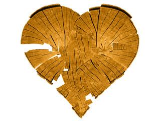 Holz - Herz - Mosaik