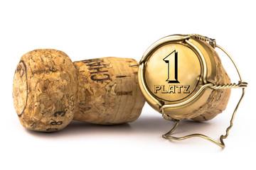 Champagnerkorken 1.Platz
