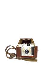 Retro/Vintage Analog Camera With Leather Case