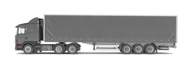 cargo truck - black - shot 38