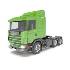 cargo truck - green - shot 34