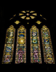 Vitral Catedral Glasgow