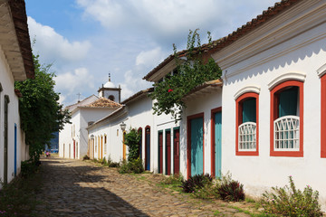 Old  colonial houses in Paraty, Brazil