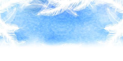羽 空 背景