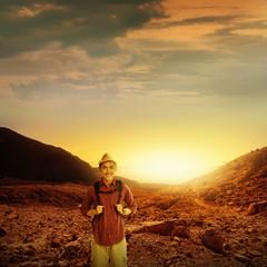 Trekking In Mount Papandayan