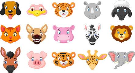 Cartoon  of animals