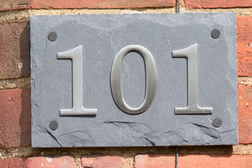 House number 101