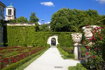 ザルツブルクのミラベル庭園