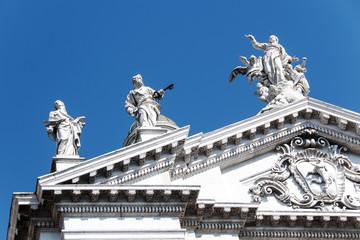 Dettaglio della cattedrale di Brescia, Italia