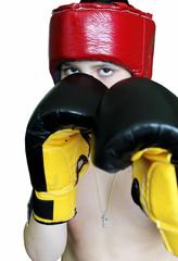 Boy boxer.