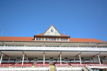 Chester race course stand