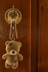 chiavi e orsetto