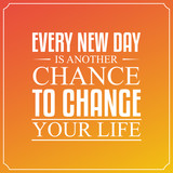 Every new day, is an...