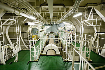 Vessel's ( Ship ) Engine Room Space
