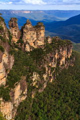 The Three Sisters in the Blue Mountains Australia