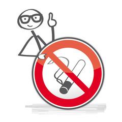 Achtung rauchen verboten