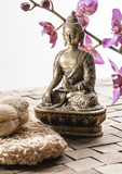 Fototapety friction for zen spa treatment