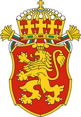 Coat of arms of Bulgaria (lesser version)