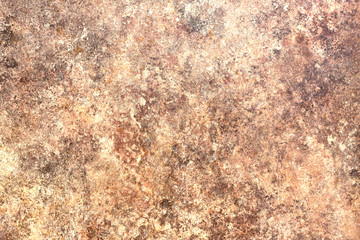 Abstract background of red granite. Horizontal view