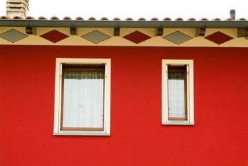 Windows or a single family home