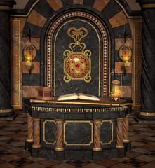 Old altar room
