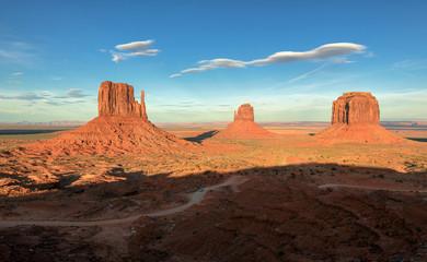 Landscape of Monument Valley, Utah, USA.