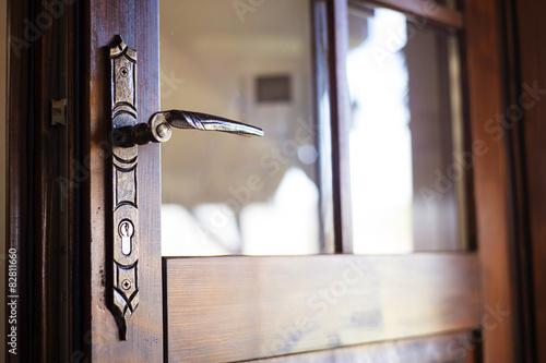Detail of an old engraved door handle & Detail of an old engraved door handle | Buy Photos | AP Images ...