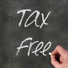 Blackboard Tax Free