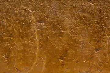 Textura o fondo de Corte vertical de tierra arcillosa agrietada