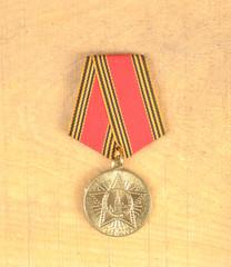 Jubilee medal 60 Years of Victory in the Great Patriotic War