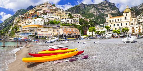 Positano - summer holidays in Amalfi coast of Italy