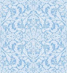 Seamless background baroque pattern. Vintage style.