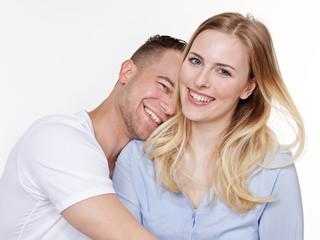 Amorous couple dream of the future