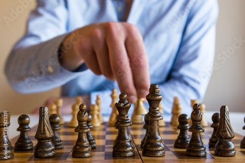 Jeu d'échecs Poster