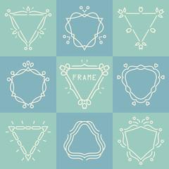 outline frames set