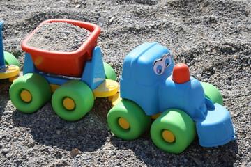 Italy, Liguria, Loano - play on the beach