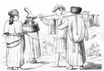 Русские крестьянки 16 и 17 веков